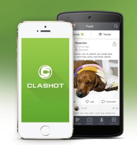 clashot - image smartphone