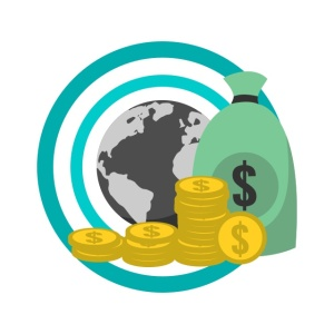 Earning Online Money Graphic