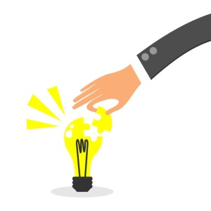idea bulb puzzle