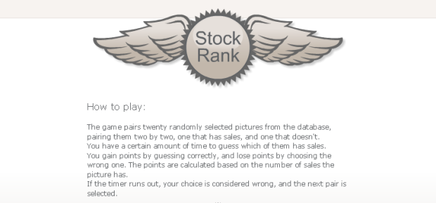stock rank dreamstime game